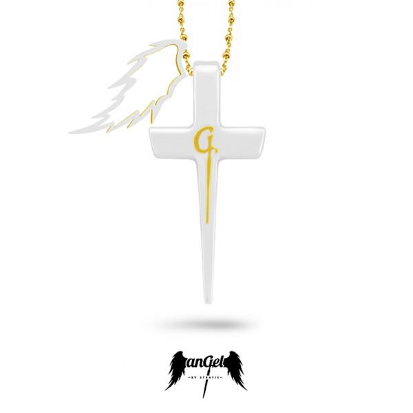Φτερό & Σταυρός «G» (ST_F_N_003)